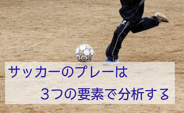 少年サッカーのプレー分析方法